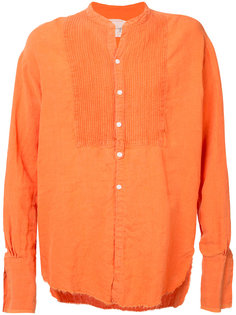 oversized frayed shirt Greg Lauren