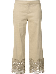 decorative hem cropped trousers Kobi Halperin
