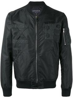 zip bomber jacket Letasca