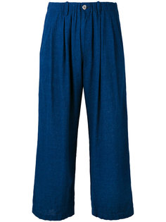cropped trousers Blue Blue Japan