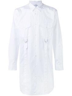 удлиненная рубашка с D-образными пряжками Comme Des Garçons Shirt