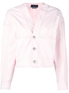 V-neck denim jacket Isabel Marant