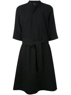 расклешенное платье-рубашка A.P.C.