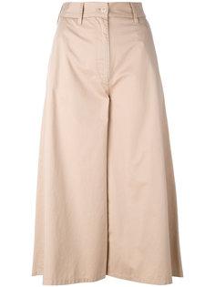 расклешенные укороченные брюки Mm6 Maison Margiela