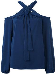 блузка с вырезом-халтер Michael Michael Kors