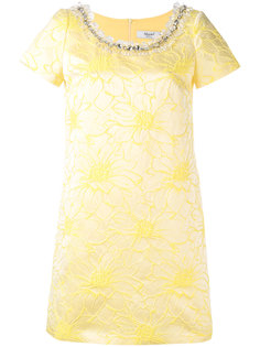 жаккардовое платье с отделкой  Blugirl