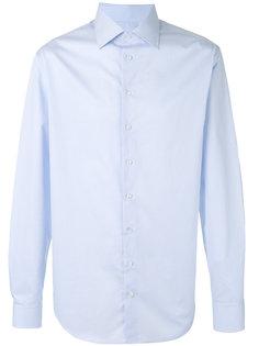 рубашка с сетчатым принтом Giorgio Armani
