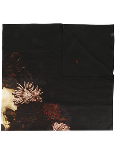 floral scarf Dior Homme
