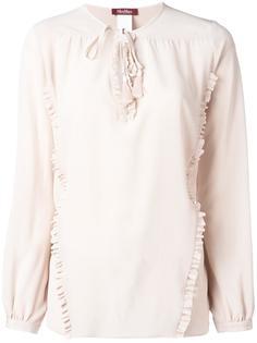 блузка с рюшами Max Mara