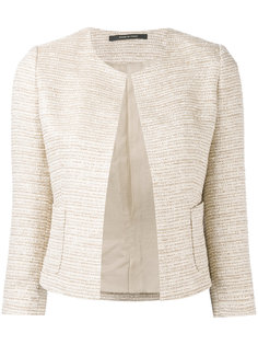 fitted tweed jacket Tagliatore