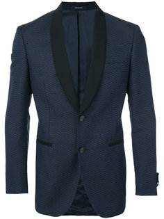 пиджак с контрастными лацканами Tonello