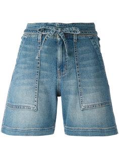 tie-waist shorts Current/Elliott