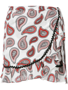 paisley mini skirt Dodo Bar Or