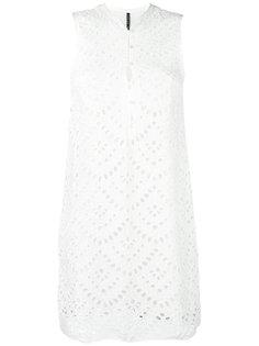 платье с перфорацией  Plein Sud