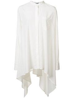 рубашка с драпировкой Maiyet