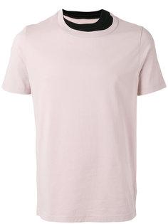 футболка с контрастной окантовкой  Maison Margiela