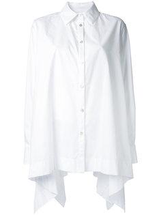 свободная рубашка с асимметричным подолом Antonio Marras