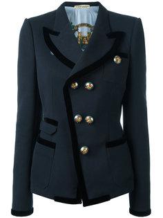 двубортный пиджак Balenciaga Vintage