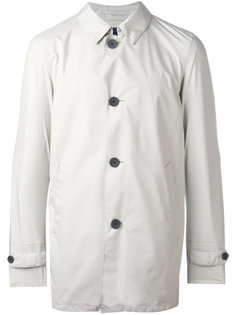 классическое пальто на пуговицах Herno