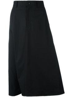 юбка А-образного силуэта длины миди Y-3