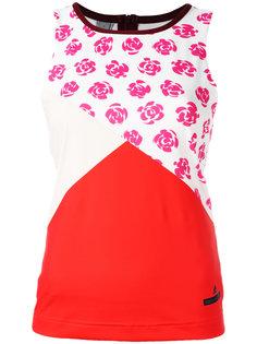 топ с цветочным принтом Adidas By Stella Mccartney