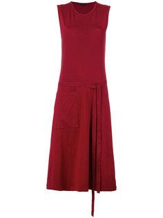 платье длины миди с запахом Joseph