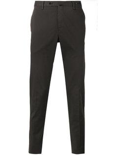 зауженные брюки Pt01