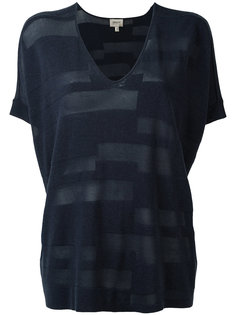 стилизованная футболка Armani Collezioni