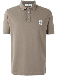 рубашка-поло с принтом логотипа Stone Island