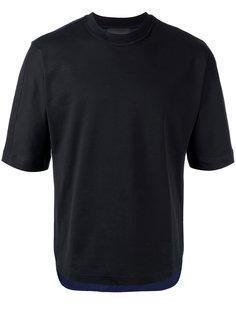 футболка асимметричного кроя Diesel Black Gold
