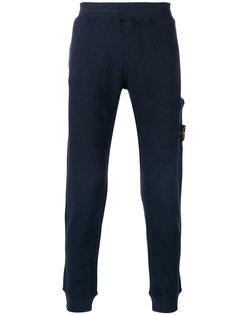 спортивные штаны с накладным карманом Stone Island