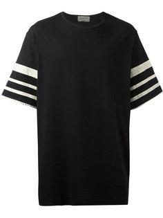 футболка с рукавами в полоску Yohji Yamamoto
