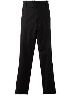 брюки с завязками на поясе Yohji Yamamoto