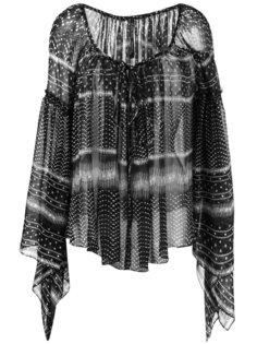 блузка со сборками Plein Sud