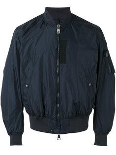 куртка бомбер с эффектом помятости Moncler