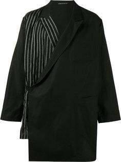 пиджак с запахом Yohji Yamamoto