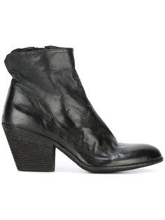 ботинки на наборном каблуке Officine Creative