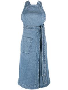 джинсовое платье с поясом Stella McCartney