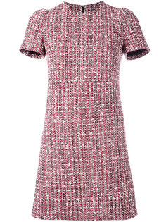 твидовое платье Alexander McQueen