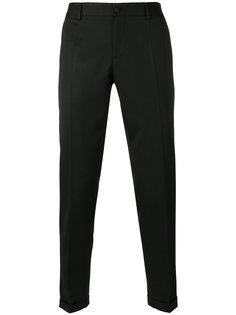 брюки чинос кроя слим Dolce & Gabbana