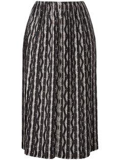 юбка с этническим узором Loewe