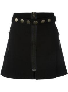 юбка с заклепками Romeo Gigli Vintage