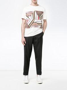 футболка с контрастной строчкой Missoni
