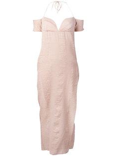 платье с вырезом в форме сердца Romeo Gigli Vintage