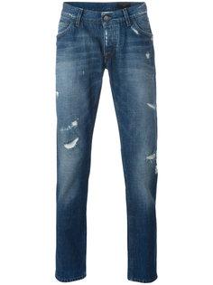 джинсы с потертыми деталями Dolce & Gabbana