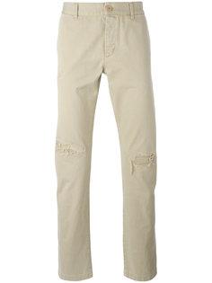 брюки-чинос прямого кроя Saint Laurent