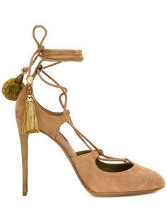 туфли с завязками с кисточками Dolce & Gabbana