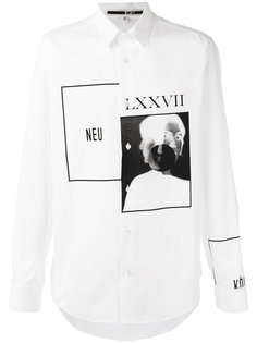 рубашка Optic White McQ Alexander McQueen