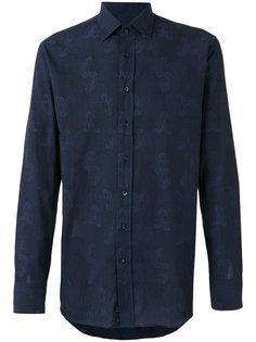 рубашка с вышивкой пейсли Etro