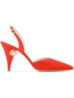 туфли с жемчужиной Nicholas Kirkwood
